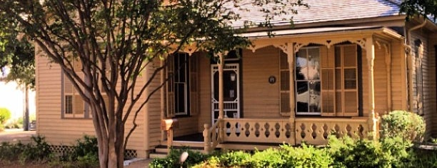 O. Henry House and Museum is one of Fore! A Course of Austin's Best (and Weirdest).