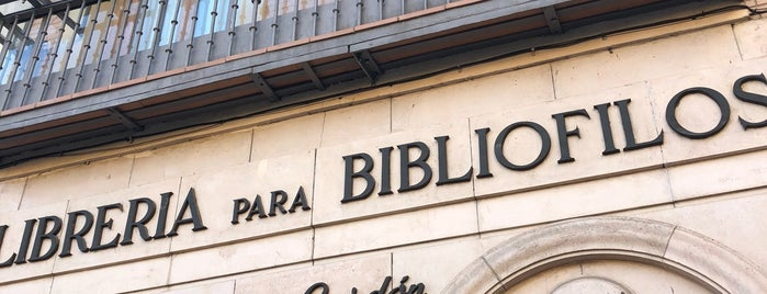 Librería Bardon is one of Madrid.
