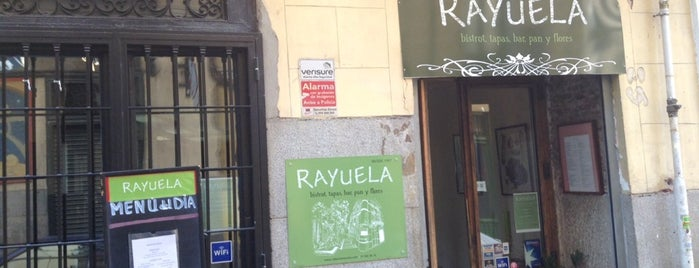 Taberna Rayuela is one of Food & Fun - Madrid.