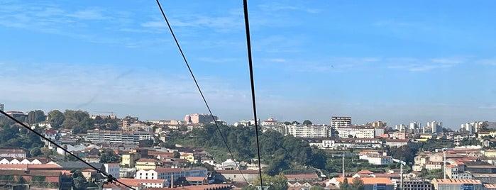 Teleférico de Gaia - Estação Jardim do Morro is one of Porto Things To Do.