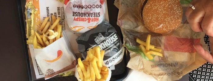 Burger King is one of Tempat yang Disimpan Yo.