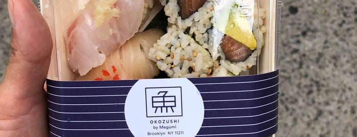 Okozushi is one of Williamsburg/Greenpoint Food.