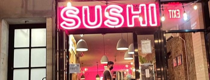 Shinsen is one of LES restaurants.