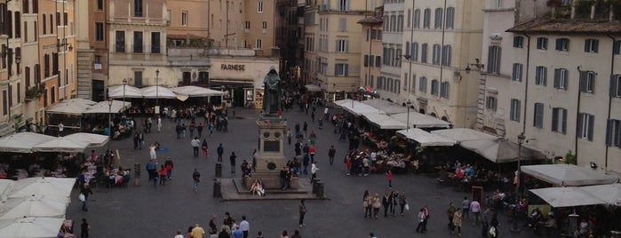 Campo de' Fiori is one of Best places.