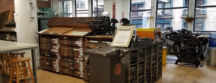 Center for Book Arts is one of NYC Galleries and Museums.