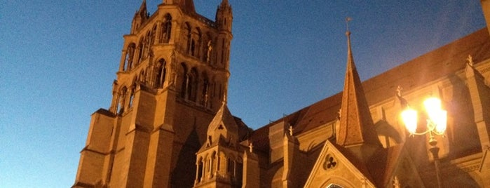 Cathédrale Notre-Dame de Lausanne is one of Suiça - onde ir.