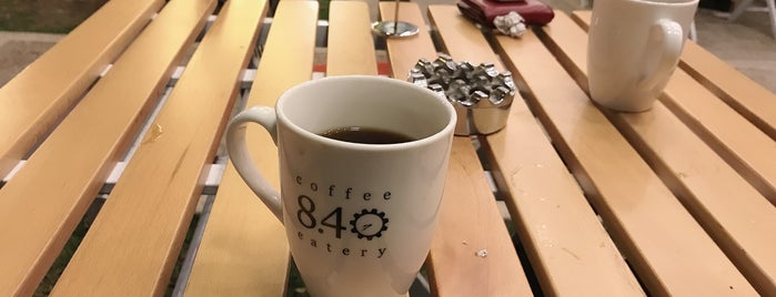 8:40 Coffee & Eatry is one of Kafesu.