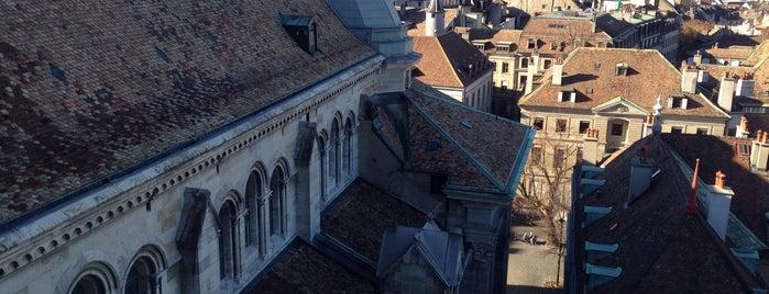 Tour Nord de la Cathédrale Saint-Pierre is one of Genève 🇨🇭.