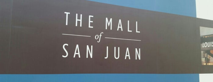 The Mall of San Juan is one of Locais curtidos por Cristina.