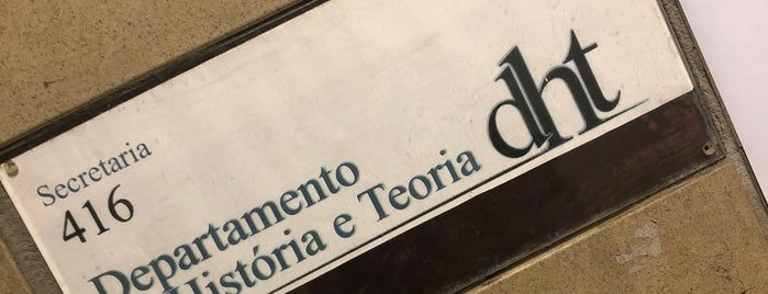 DHT - Departamento de História e Teoria is one of UFRJ.