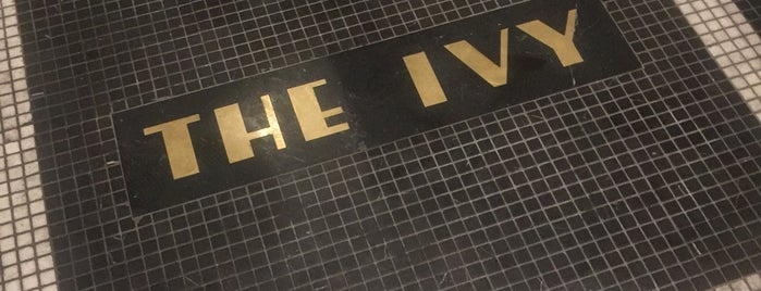 The Ivy is one of London.