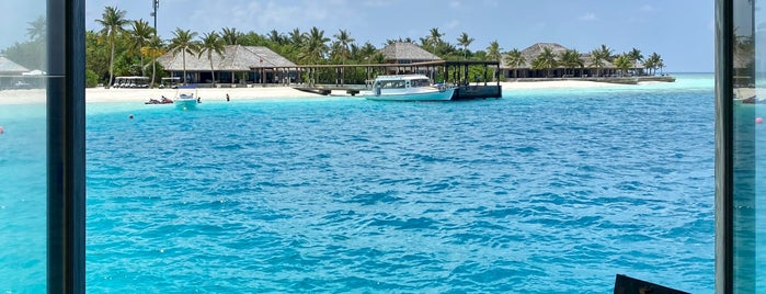 5.8 Undersea Restaurant is one of Maldives.