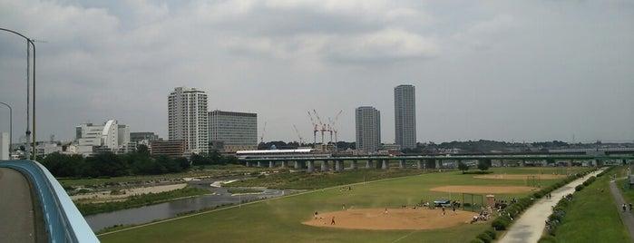 新二子橋 is one of デイリー.