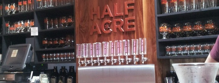 Half Acre Beer Company is one of Chicago To Do.