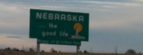 Kansas/Nebraska State Line on US-81 is one of Most visited.