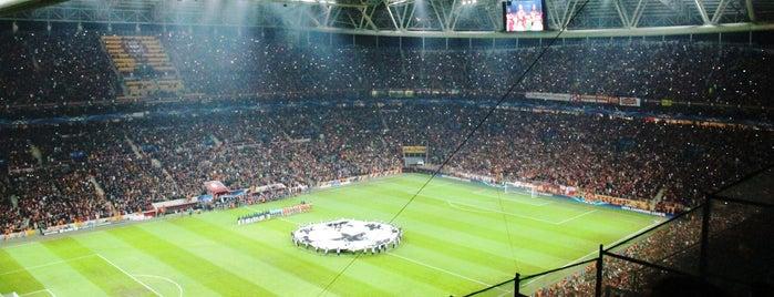 Türk Telekom Stadyumu is one of istanbul.