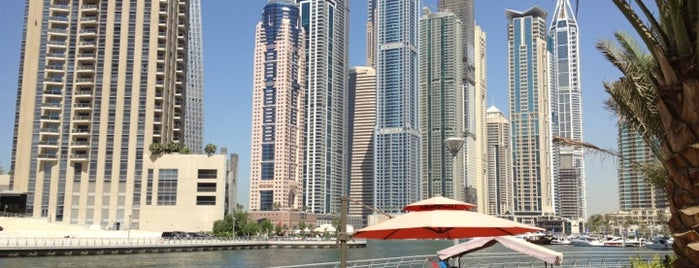 Dubai Marina Walk is one of Dubai List.