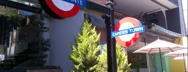 Camden Town Burgers is one of Locais curtidos por Cristina.