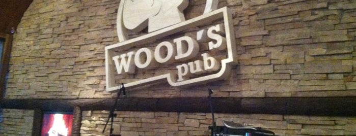 Wood's Pub is one of Senhas wifi Curitiba.