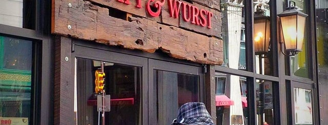 BRÜ Craft & Wurst is one of Center City Sips 2015.