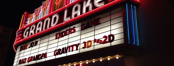 Grand Lake Theater is one of East Bay.