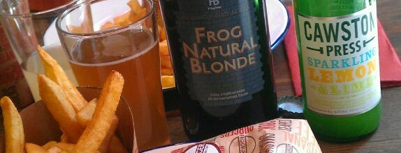 FrogBurger is one of Lieux sauvegardés par Sopheary.