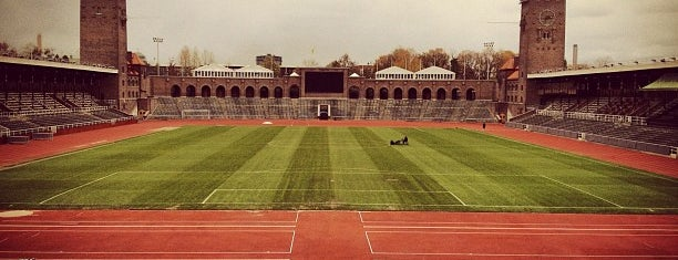 Stockholms Stadion is one of Top Olympic Stadiums.