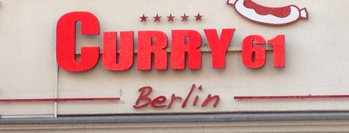 Curry 61 is one of Currywurst.
