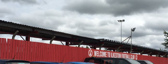 Ilkeston FC is one of Non-League Football Grounds (Northern).