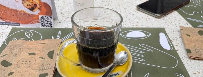 Café Zinn is one of Explorando III.