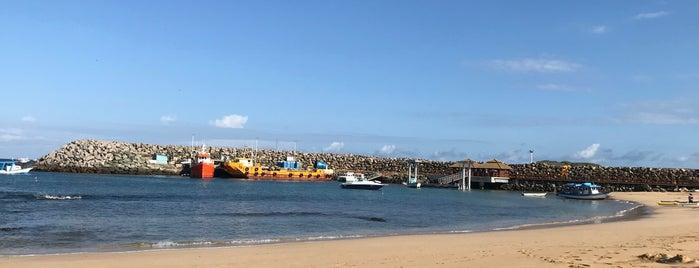 Praia do Porto is one of Noronha.