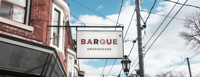 Barque Smokehouse is one of Toronto, ON.