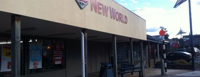 New World is one of Ruapehu.