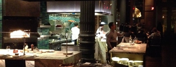 Chefs Club by Food & Wine NY is one of NY places to try.