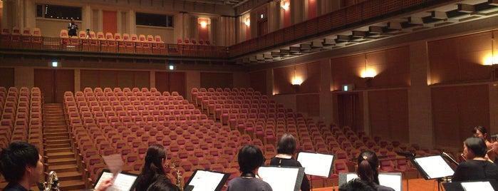 彩の国さいたま芸術劇場 音楽ホール is one of สถานที่ที่ Hideo ถูกใจ.
