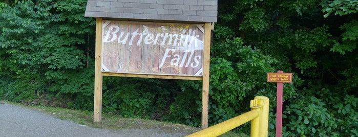 Buttermilk Falls is one of Louisville, KY.