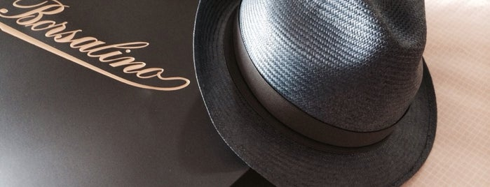 Borsalino Hatters is one of Locais curtidos por Christophe.