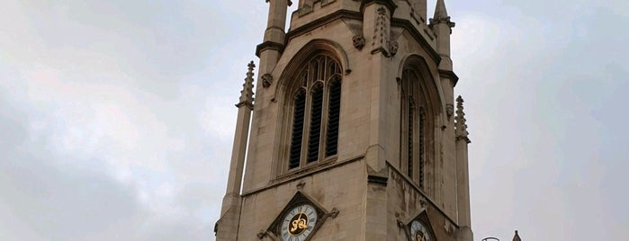 St Dunstan-in-the-West is one of Around The World: London.