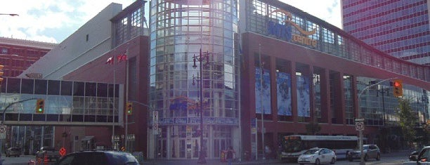 Bell MTS Place is one of Sporting Venues....