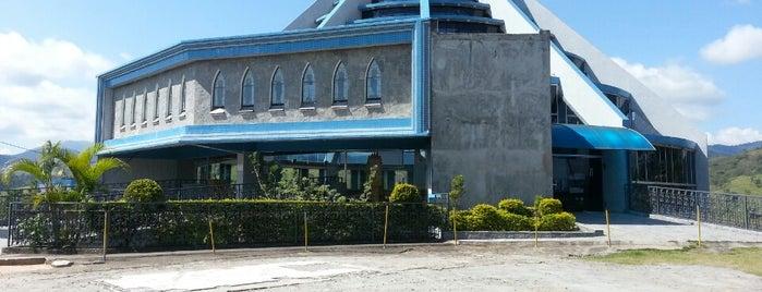 Santuário Nossa Senhora Da Agonia is one of สถานที่ที่ Priscila ถูกใจ.