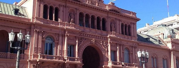 Casa Rosada is one of The National Palace.