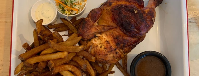 Mon Petit Poulet is one of Montreal.