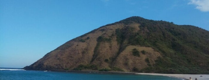 Mawun Beach is one of LOMBOK.