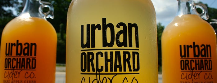 Urban Orchard Cider Co. is one of Asheville, NC.