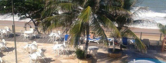 Praia Azul Mar Hotel is one of สถานที่ที่ priscila ถูกใจ.