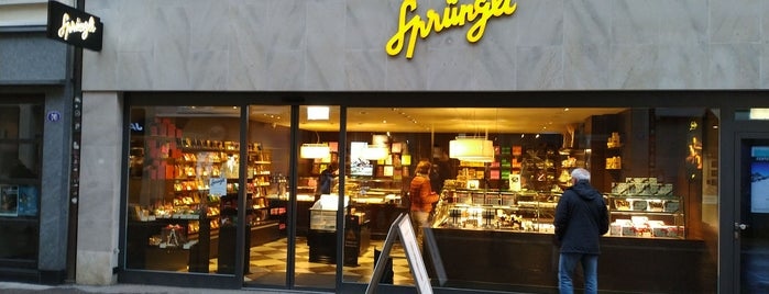 Confiserie Sprüngli is one of St GALLEN-XPLORE.