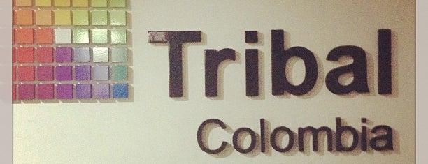Tribal Colombia is one of Aquí Se debería Poder Rayar las Paredes.