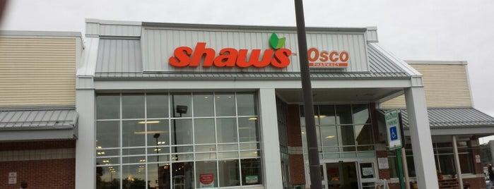 Shaw's is one of John 님이 좋아한 장소.