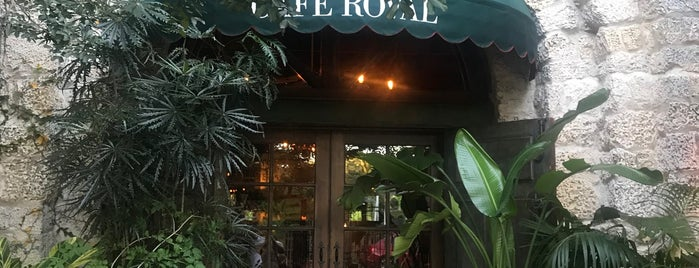 Cafe Roval is one of Miami area.