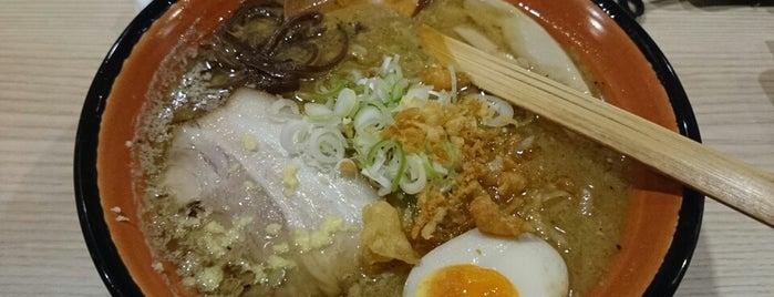 麺屋 華らく is one of 汁なし担々麺.